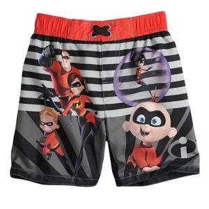 Disney - Swim Trunks The Incredibles (NWT)
